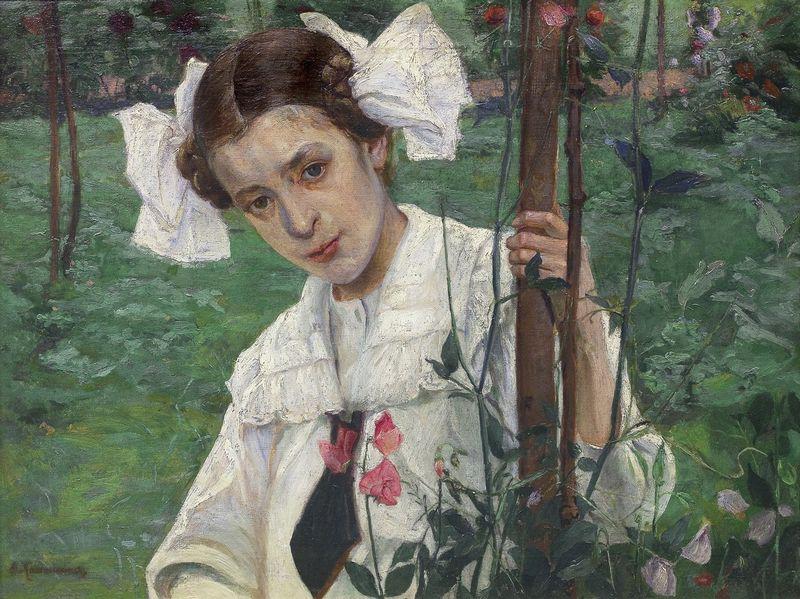 """Eugenijus Kazimirovskis, """"Madzia"""", 1908 m. ARS VIA nuotr."""
