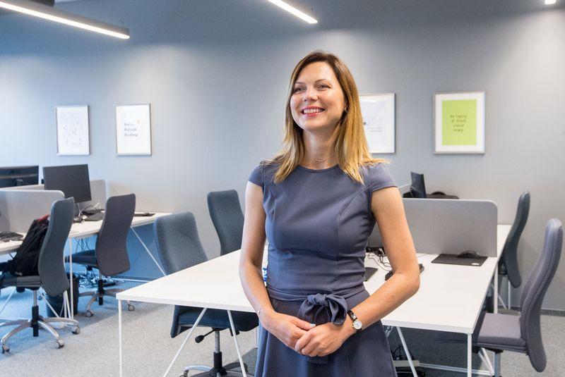 """Rasa Buožienė, UAB """"ACME grupės"""" bendrovių personalo vadovė: """"Nusprendėme, kad įmonėje reikėtų diegti mokymosi kultūrą, kad mokymasis būtų nuolatinis, nenutrūkstamas procesas."""" Juditos Grigelytės (VŽ) nuotr."""