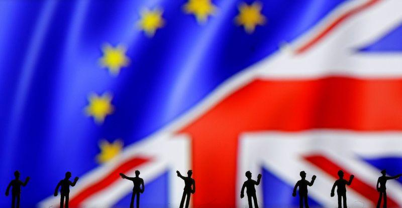 """Vokietijos pramonė po """"Brexit"""" norėtų muitų sąjungos su JK. Dado Ruvičiaus (""""Reuters"""" / """"Scanpix"""")  nuotr."""