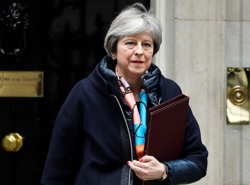 """Rusijai baigėsi JK premjerės Theresos May paskelbtas ultimatumas. Toby Melville (""""Reuters"""" / """"Scanpix"""")  nuotr."""