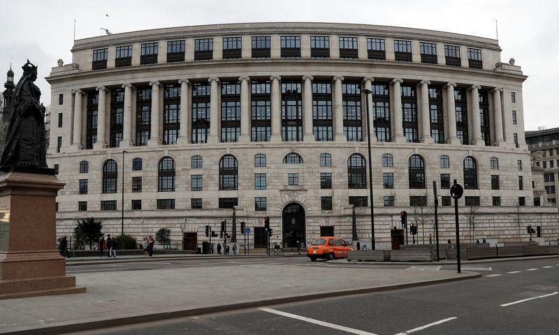 """Unilever"" pastatas Londone. Peterio Nichollso (""Reuters"" / ""Scanpix"") nuotr."