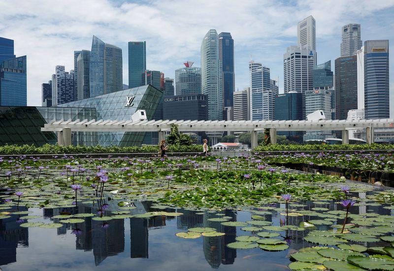"""Singapūras.Edgar Su (""""Reuters"""" / """"Scanpix"""") nuotr."""