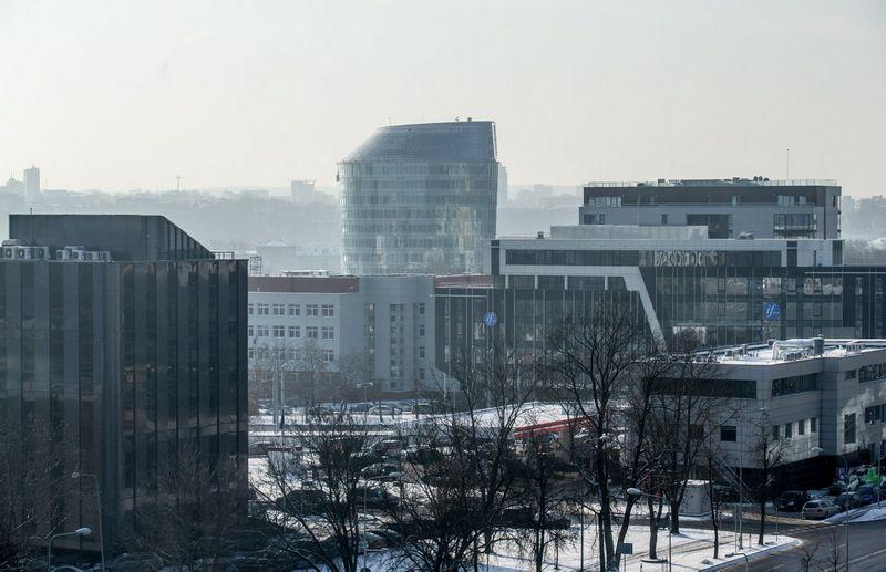 Verslo centrai Žvėryne, Vilniuje. Juditos Grigelytės (VŽ) nuotr.