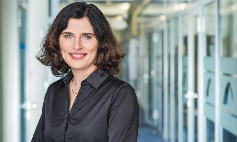 """Loreta Matulionienė UAB """"Blue Bridge Baltic"""" Marketingo skyriaus vadovė."""