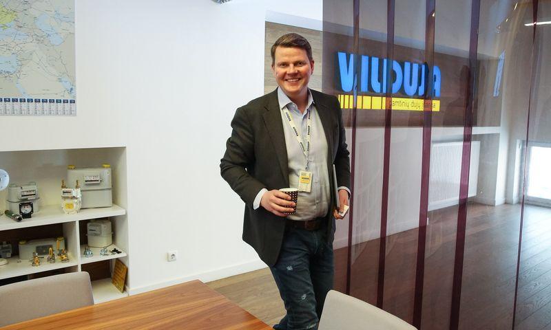"""Andrius Vitkevičius, UAB """"Vilduja"""" direktoriaus pavaduotojas: """"Esame atleidę 3–4 žmones ir tai pasiteisino: atmosfera įmonėje iš karto pagerėjo, o į jų vietą priėmėme darbuotojus, tebedirbančius ligi šiol."""" Vladimiro Ivanovo (VŽ) nuotr."""