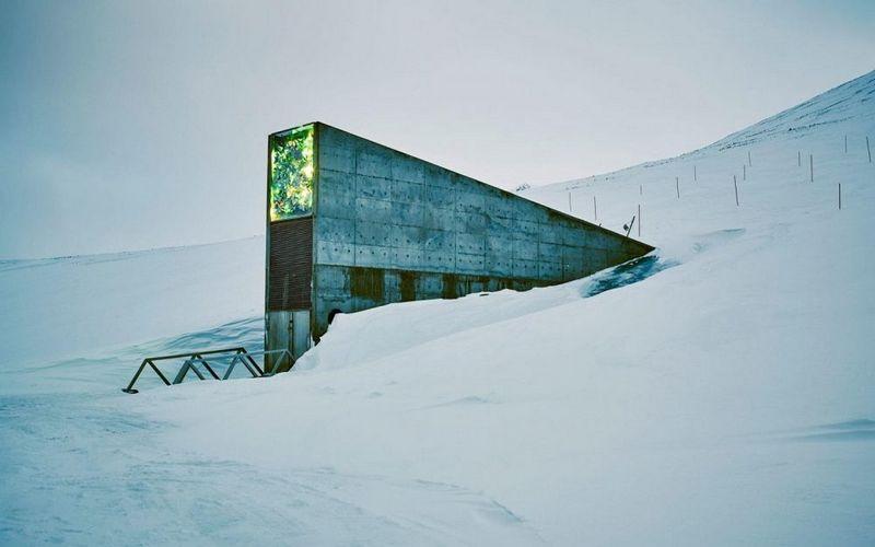 """Svalbardo sėklų saugykla. Skandinavija. """"Today"""" nuotr."""