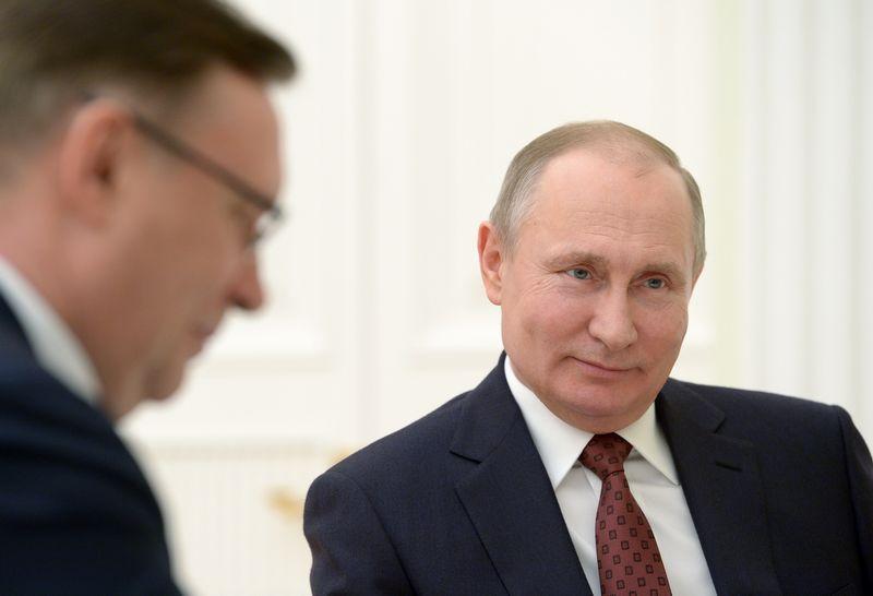 """Vladimiras Putinas. Aleksejaus Nikolskio (""""Sputnik"""" / """"Scanpix"""")  nuotr."""