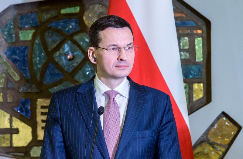 Lenkijos ministras pirmininkas Mateuszas Morawieckis. Juditos Grigelytės (VŽ) nuotr.