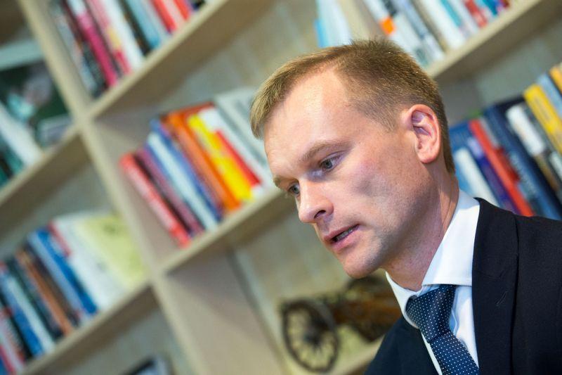 Marius Pulkauninkas, VĮ Valstybinės miškų urėdijos direktorius. Juditos Grigelytės (VŽ) nuotr.
