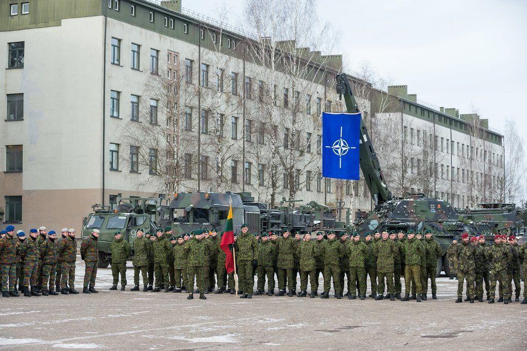 Prie NATO priešakinių pajėgų bataliono Rukloje prisijungė Islandija