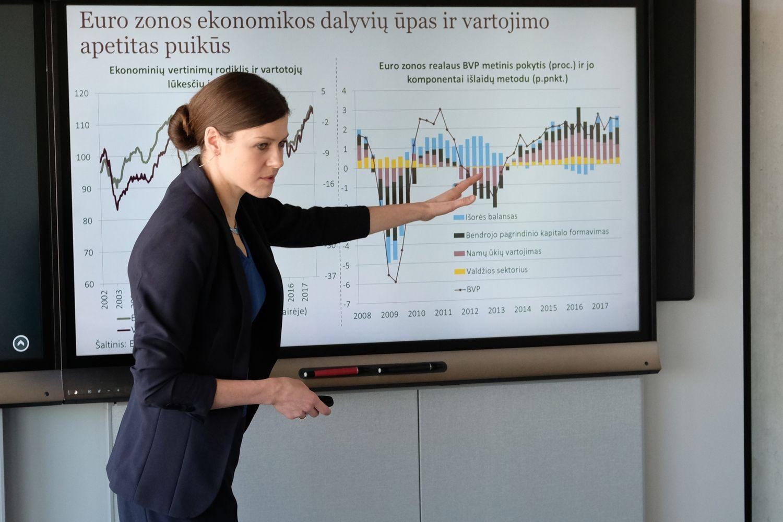 Lietuvos ekonomika į priekį juda iškėlusi visas bures