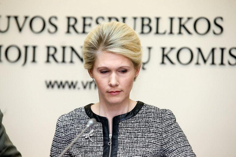 Laura Matjošaitytė, VRK vadovė. Vladimiro Ivanovo (VŽ) nuotr.