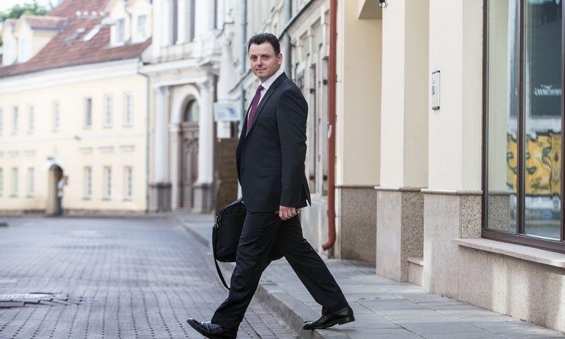 Advokatas dr. Laimonas Marcinkevičius. Juditos Grigelytės (VŽ) nuotr.