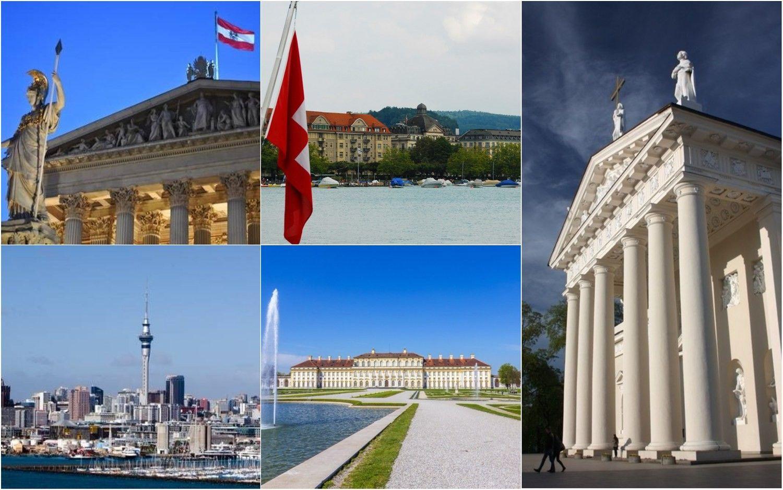 Geriausios gyvenimo kokybės miestų rikiuotėje Vilnius – 81