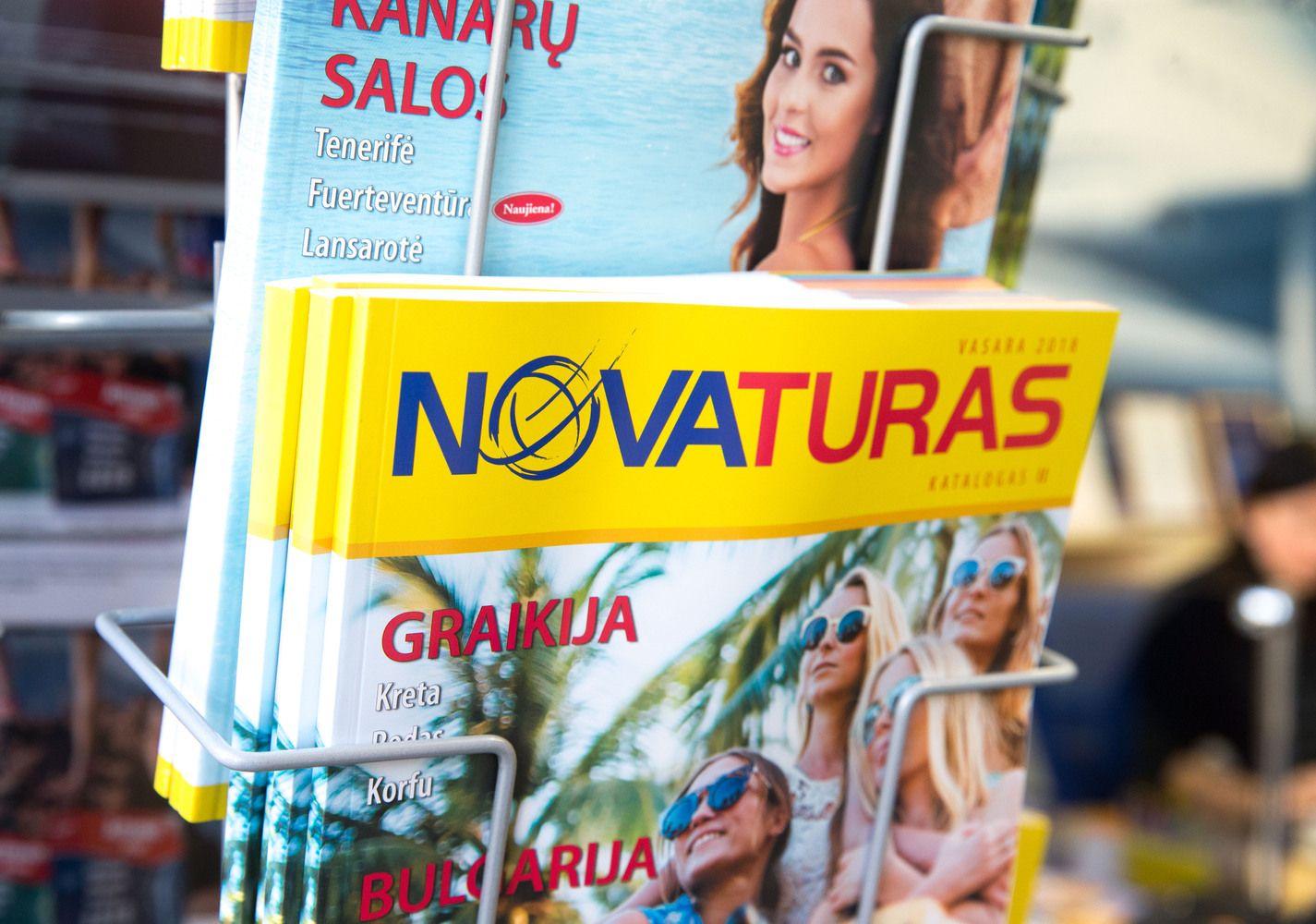 """Novaturo"" startas – su 14% šuoliu"