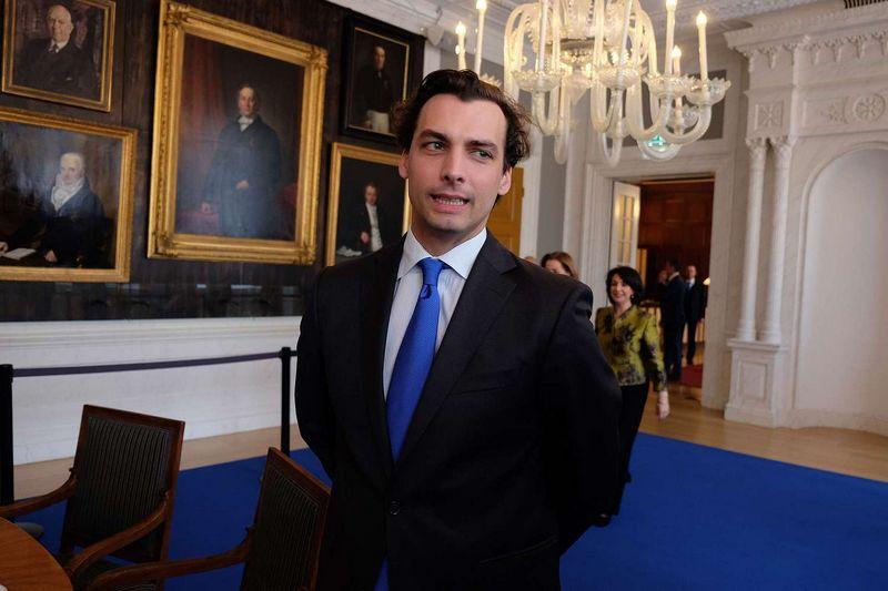 """Nyderlandų partijos """"Demokratijos forumas"""" vedlys Thierry Baudet. Jonathano Alpeyrie (""""SIPA""""/ """"Scanpix"""") nuotr."""