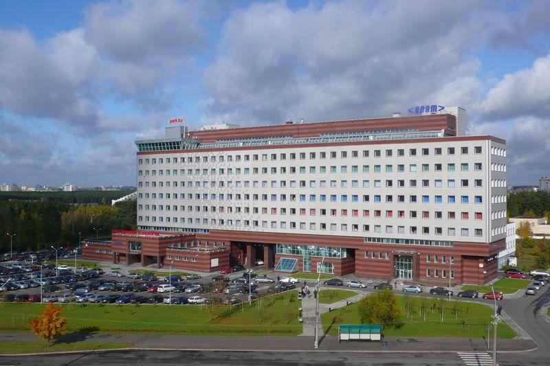 Baltarusijos aukštųjų technologijų parkas Minske. Baltarusijos aukštųjų technologijų parko nuotr.