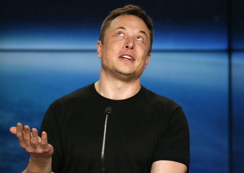 """Elonas Muskas. Joe Skipperio (""""Reuters"""" / """"Scanpix"""") nuotr."""