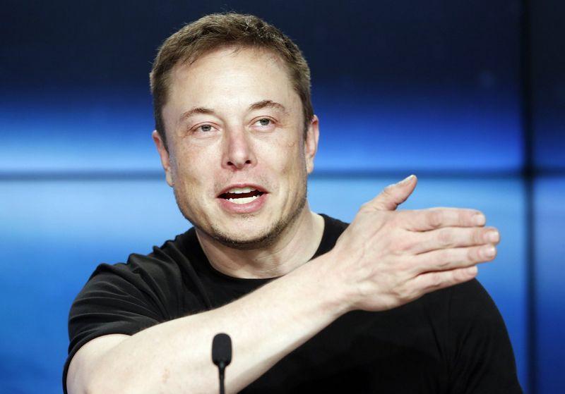 Elonas Muskas. Joe Skipperio (Reuters / Scanpix) nuotr.
