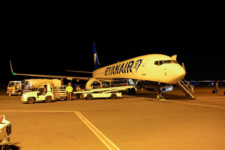 """""""Ryanair"""" paskelbė apie skrydžius iš Vilniaus į Ukrainą"""