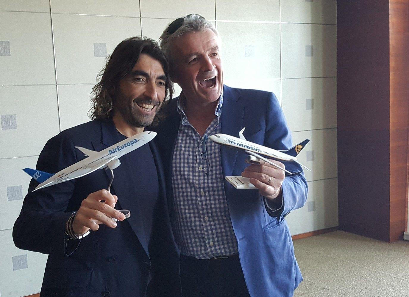 """""""Ryanair"""" kartu su """"Air Europa"""" siūlys skrydžius į Ameriką"""