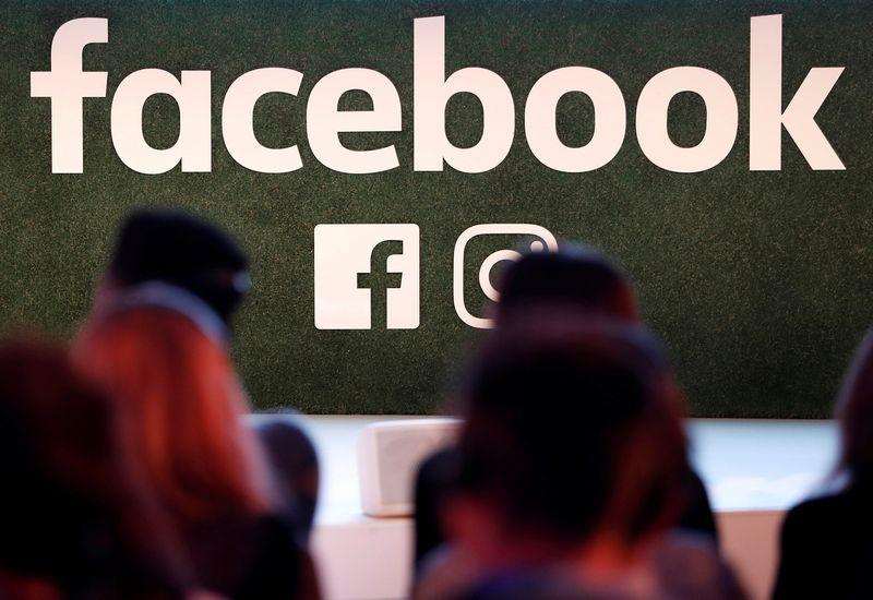 """""""Facebook"""" logotipas. Yveso Hermano (""""Reuters"""" / """"Scanpix"""") nuotr."""