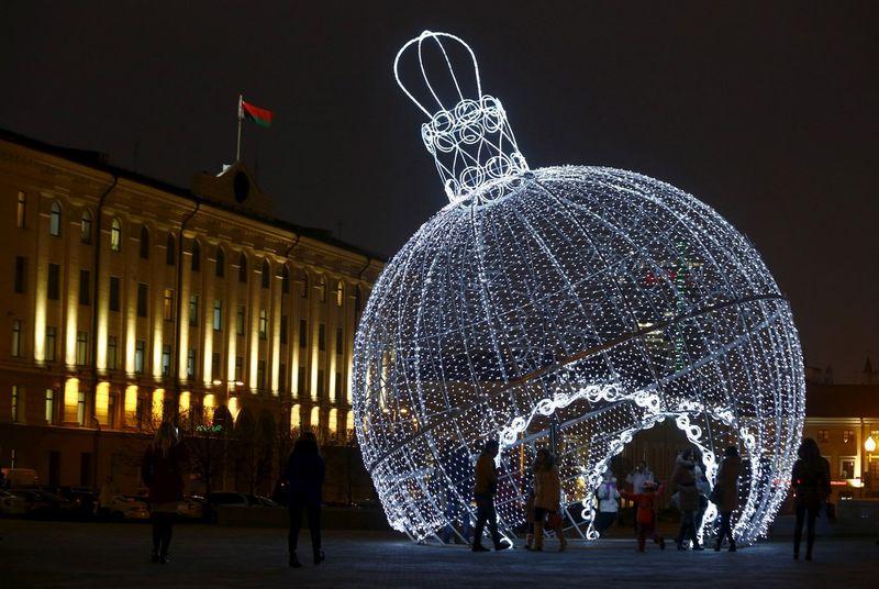Minskas. Vasilijaus Fedosenko (Reuters / Scanpix) nuotr.