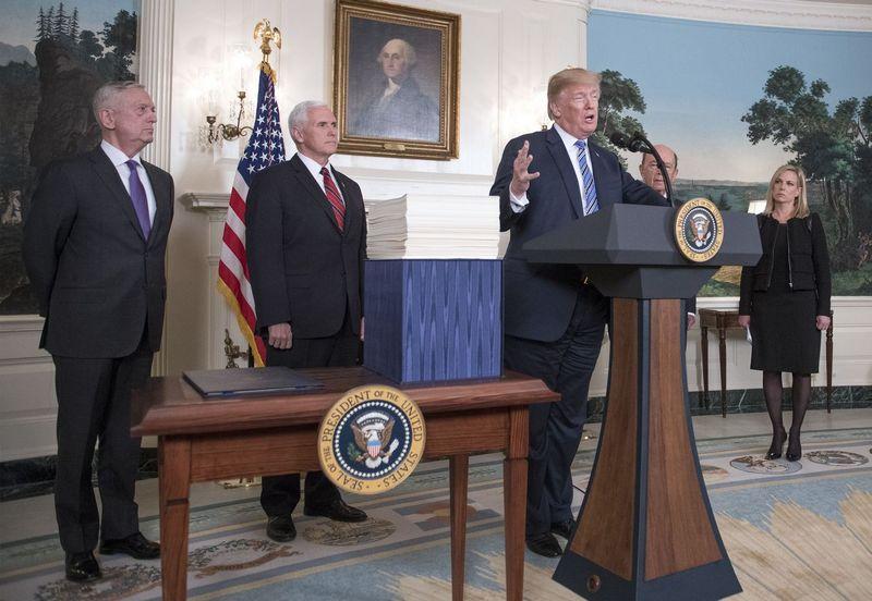 "Donaldas Trumpas, JAV prezidentas. (""Sipa""/""Scanpix"") nuotr."