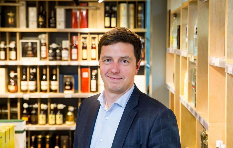 """Algirdas Čiburys, """"MV Group production"""" generalinis direktorius. Juditos Grigelytės (VŽ) nuotr."""