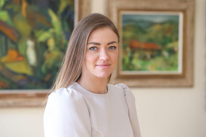 "Miglė Petkevičienė, advokato kontoros ""Ellex Valiunas"" asocijuotoji teisininkė. Vladimiro Ivanovo (VŽ) nuotr."