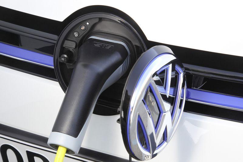"""""""Volkswagen"""" paskelbė į elektromobilių gamybą investuojanti 20 mlrd. Eur. Gamintojo nuotr."""
