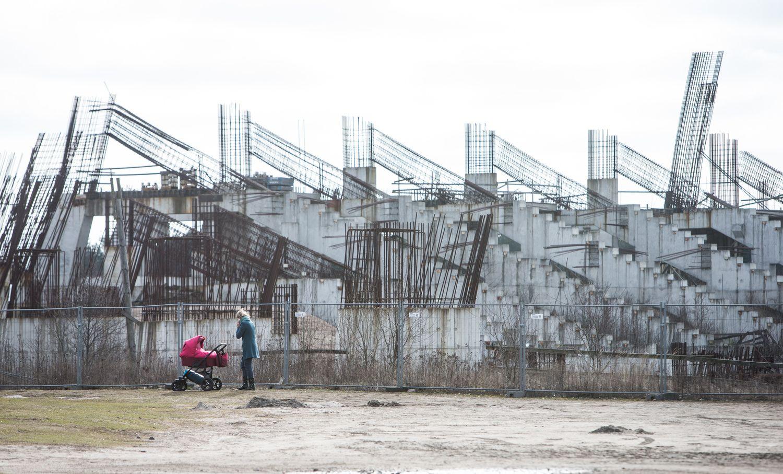 Vilnius prašo Vyriausybėsskirti narį į Nacionalinio stadiono komisiją