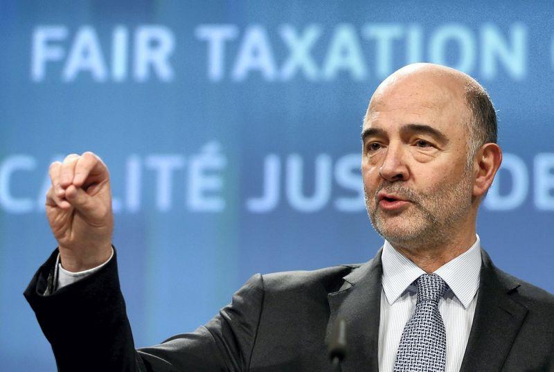 """Pierre'as Moscovici, Europos Komisijos komisaras, atsakingas už mokesčius. Francois Lenoir (""""Reuters"""" / """"Scanpix"""") nuotr."""