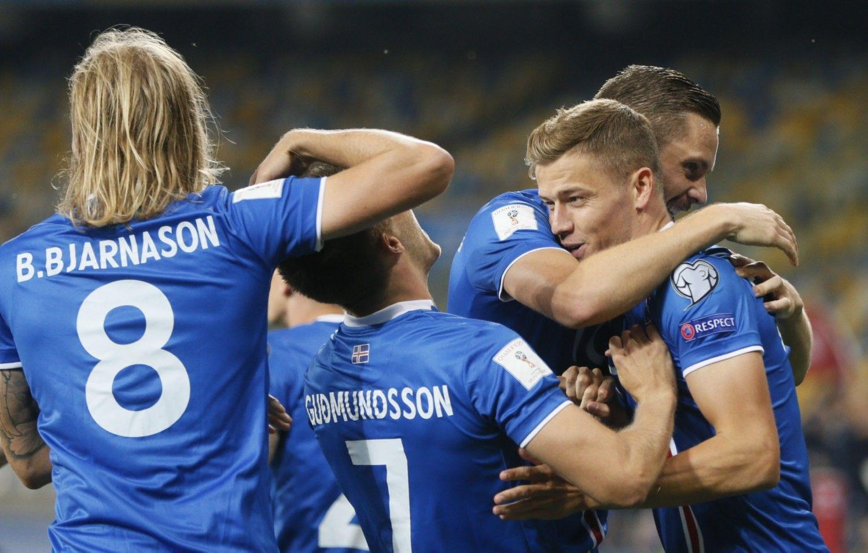 Islandijos vadovai boikotuos pasaulio futbolo čempionatą Rusijoje