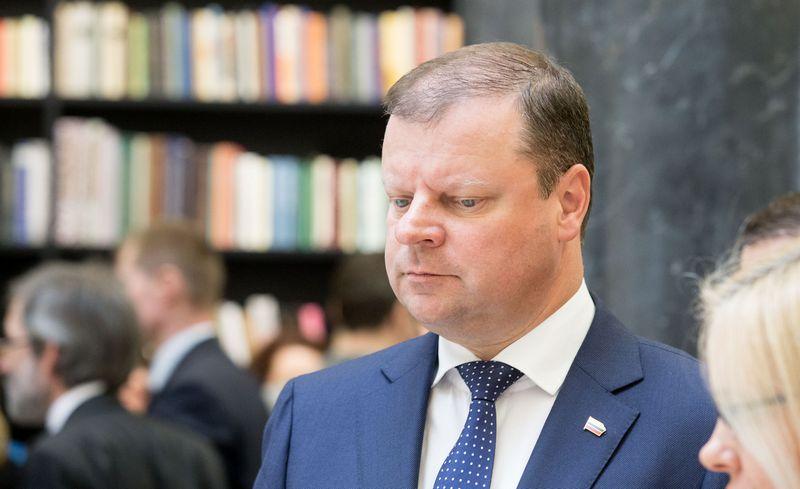 Saulius Skvernelis, premjeras. , Juditos Grigelytės (VŽ) nuotr.