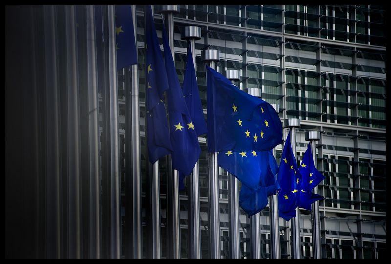 """Europos Komisijos pastatas Briuselyje. Erico Herchafto (""""Reuters"""" / """"Scanpix"""") nuotr."""