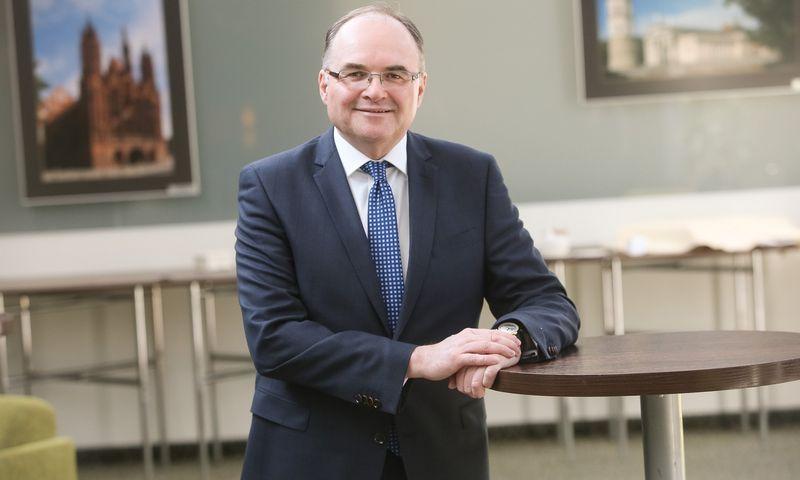 Jacekas Fotekas, Varšuvos vertybinių popierių biržos valdybos viceprezidentas. Vladimiro Ivanovo (VŽ) nuotr.