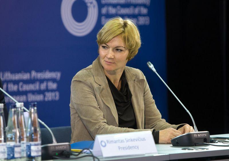 Rasa Jakilaitienė, užsienio reikalų ministro atstovė spaudai. Juditos Grigelytės (VŽ) nuotr.