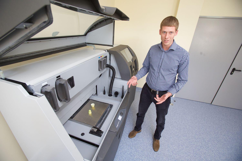 Europos 3D spausdinimo užsakymai keliauja jaunai bendrovei į Vilnių