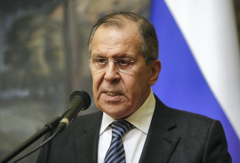 Sergejus Lavrovas. Sergejaus Karpuchino (Reuters / Scanpix) nuotr.