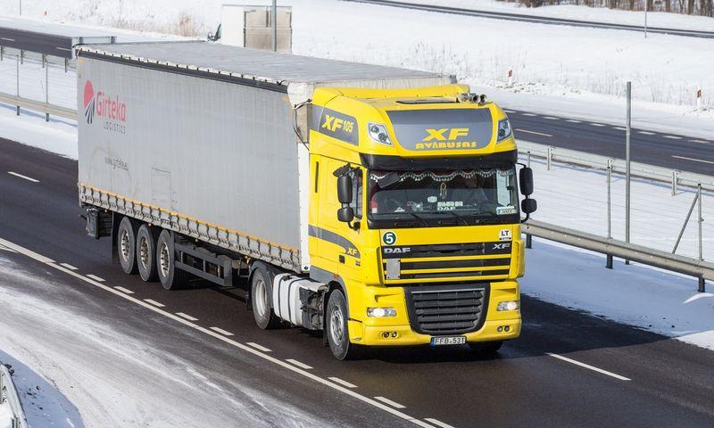 Lietuvos transporto paslaugų eksportas sudaro 60% viso šalies paslaugų eksporto. Juditos Grigelytės (VŽ) nuotr.
