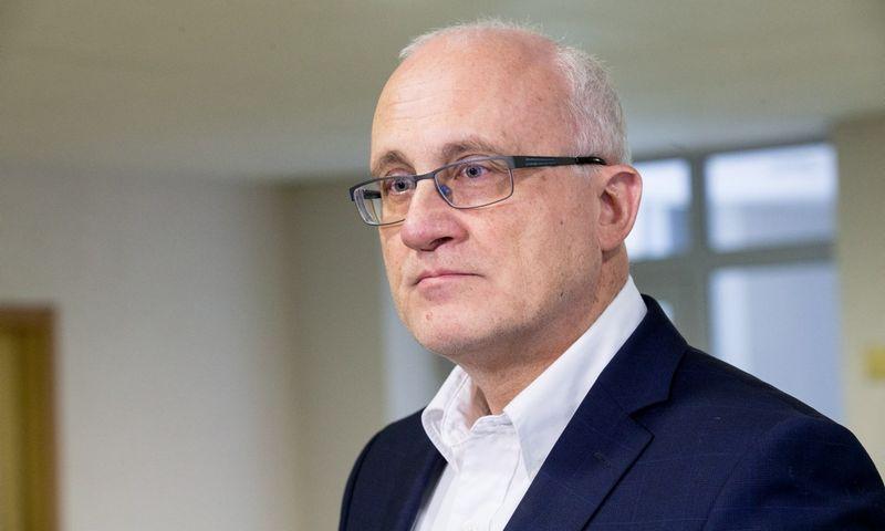 Seimo Biudžeto ir finansų komiteto pirmininkas Stasys Jakeliūnas. Juditos Grigelytės (VŽ) nuotr.