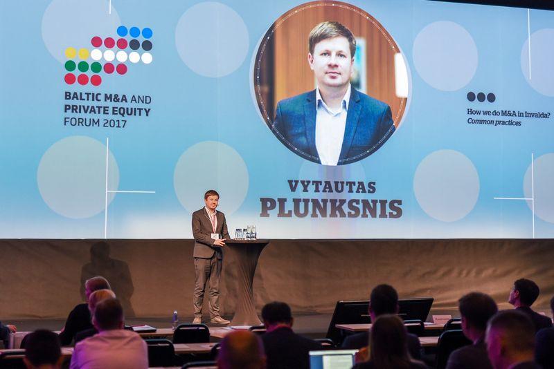Vytautas Plunksnis, Investuotojų asociacijos valdybos pirmininkas. Ryčio Galadausko (VŽ) nuotr.