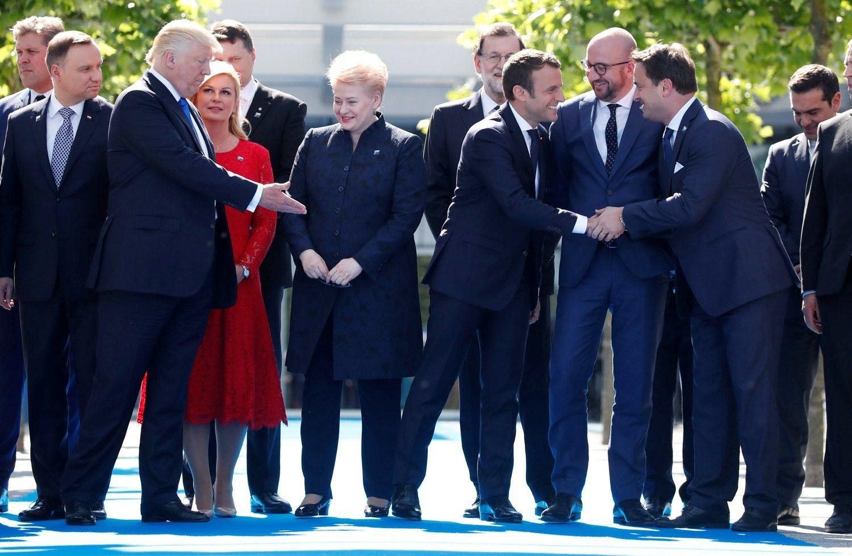 Grybauskaitės susitikimo su Trumpu temos – saugumas ir energetika