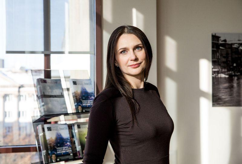 """Asta Macijauskienė, advokatų kontoros """"Glimstedt"""" vyresnioji teisininkė, advokatė: """"Mobiliosiomis programėlėmis renkami net duomenys apie sveikatą"""". Juditos Grigelytės (VŽ) nuotr."""