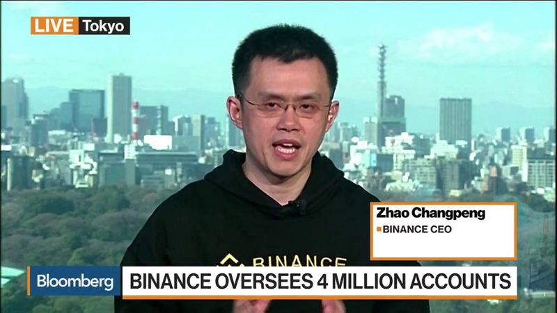 "Zhao Changpengas, ""Binance"" įkūrėjas. ""Youtube"" nuotr."