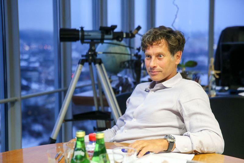 """Darius Mockus, koncerno """"MG Baltic"""" prezidentas. Vladimiro Ivanovo (VŽ) nuotr."""