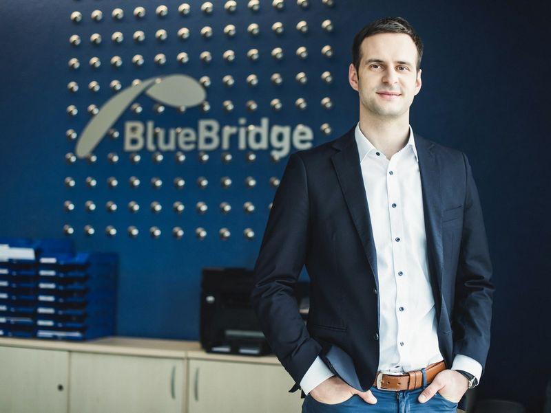 """Mindaugas Maraulas """"Blue Bridge"""" IT paslaugų valdymo skyriaus vadovas."""
