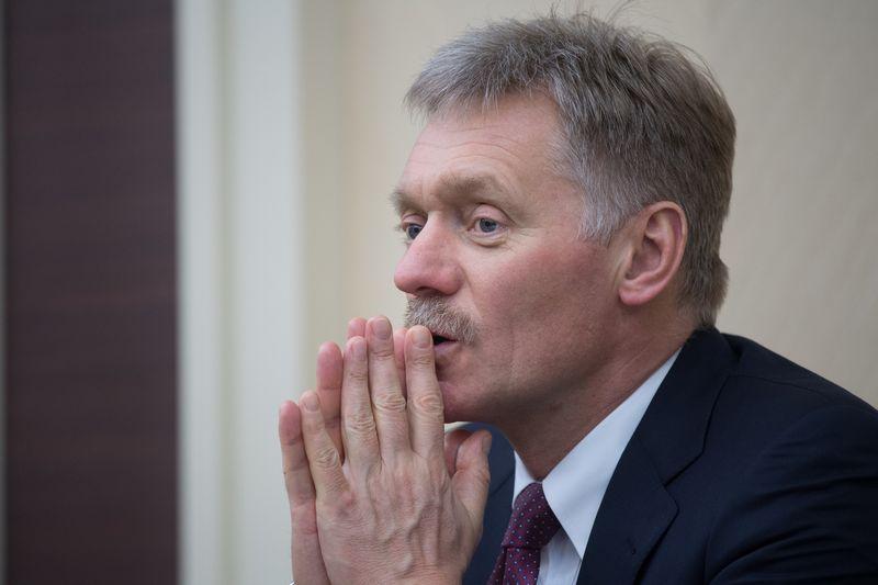 """Dmitrijus Peskovas, Rusijos prezidento atstovas spaudai. Sergejaus Gunejevo (""""Sputnik"""" / """"Scanpix"""") nuotr."""