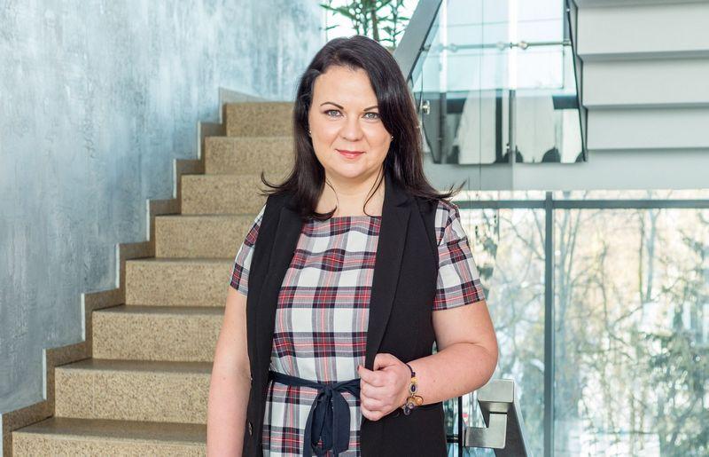 """Anželika Daujotienė, """"Penkių kontinentų"""" įmonių grupės personalo vadovė: """"Grupė nemažai investuoja, kad darbuotojams būtų sukurta motyvuojanti ir įkvepianti aplinka."""""""